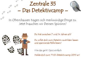 Zentrale 35 – Das Detektivcamp