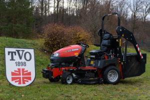 Neuer Rasenmäher für unsere Sportplätze