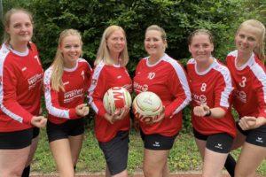 Faustball Damen – Aufstieg in die Landesliga